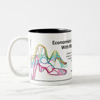 Economists Do It With Models Two-Tone Large Mug
