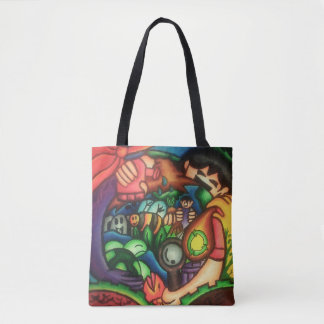 Ecosystem Conservation Themed Tote Bag