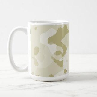 Ecru Camo; Camouflage Classic White Coffee Mug