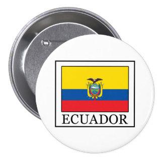 Ecuador 7.5 Cm Round Badge