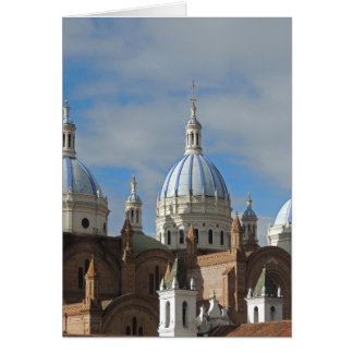 Ecuador - Cathedral of the Immaculate Conception Card