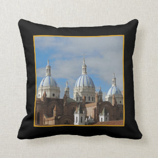 Ecuador - Cathedral of the Immaculate Conception Cushion
