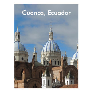Ecuador - Cathedral of the Immaculate Conception Postcard