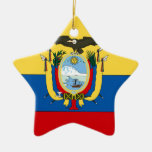 Ecuador Ceramic Star Decoration