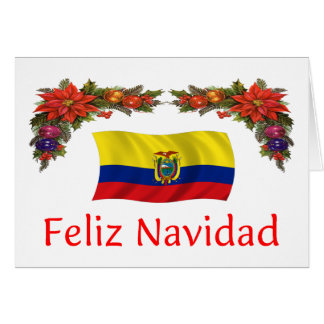 Ecuador Christmas Card