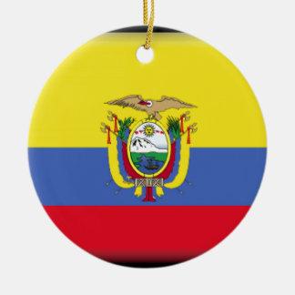 Ecuador Christmas Ornament