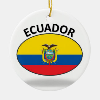 Ecuador Christmas Ornament