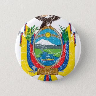 Ecuador Coat Of Arms 6 Cm Round Badge