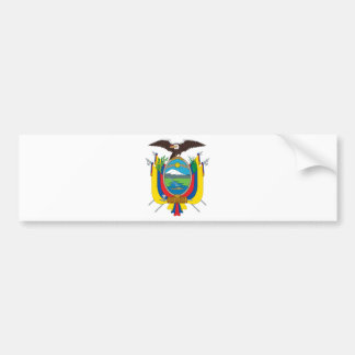 Ecuador Coat Of Arms Bumper Sticker