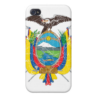 Ecuador Coat Of Arms iPhone 4 Covers