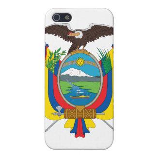 Ecuador Coat Of Arms iPhone 5 Cases