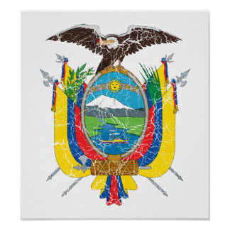 Ecuador Coat Of Arms Poster