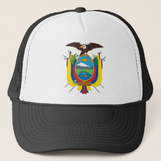 Ecuador Coat Of Arms Trucker Hat