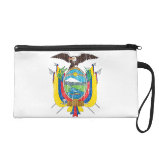 Ecuador Coat Of Arms Wristlet