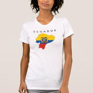 ecuador country flag map shape silhouette symbol T-Shirt