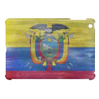 Ecuador distressed flag iPad mini case