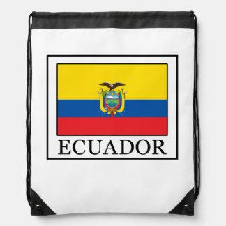 Ecuador Drawstring Backpacks