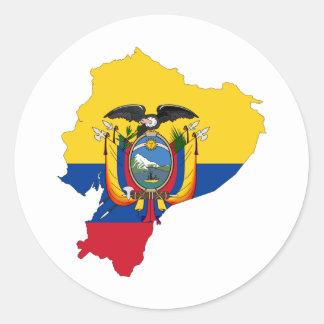 Ecuador EC Classic Round Sticker