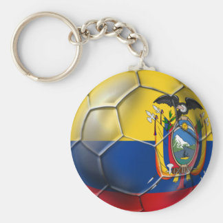Ecuador Elt Tri world cup soccer futbol ball gifts Key Ring