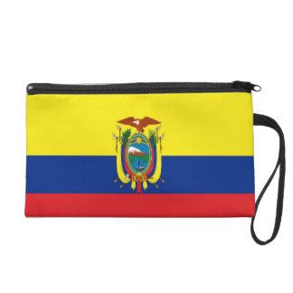 Ecuador Flag Wristlet Purse