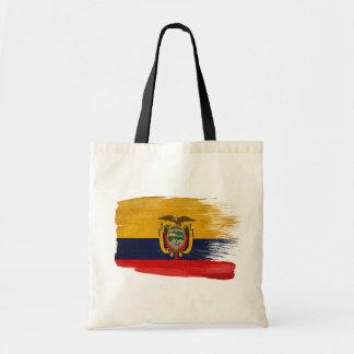 Ecuador Flag Canvas Bags