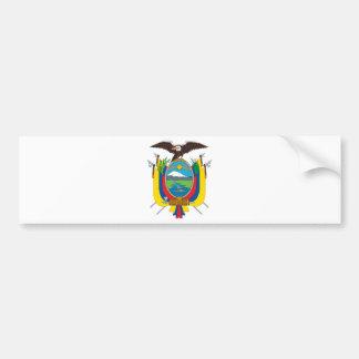 Ecuador Flag EC Bumper Sticker