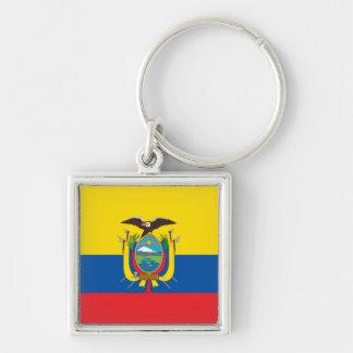 Ecuador Flag EC Key Ring