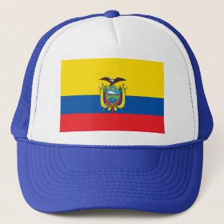 Ecuador Flag EC Trucker Hat