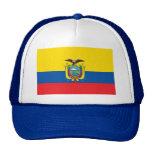 Ecuador Flag EC Trucker Hats