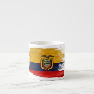 Ecuador Flag Espresso Cup