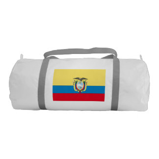 Ecuador Flag Gym Duffel Bag