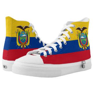 Ecuador Flag High Tops