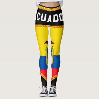 Ecuador Flag Leggings