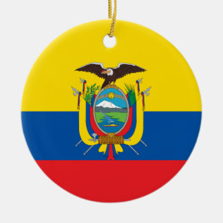 Ecuador Flag Ornament