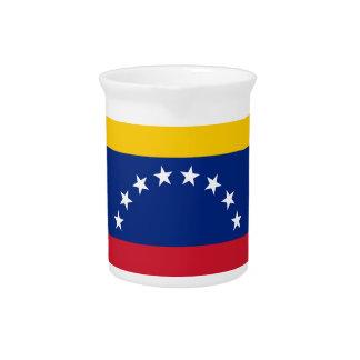 Ecuador Flag Pitcher