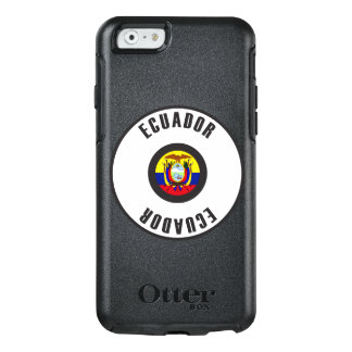 Ecuador Flag Simple OtterBox iPhone 6/6s Case