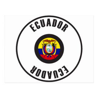 Ecuador Flag Simple Postcard