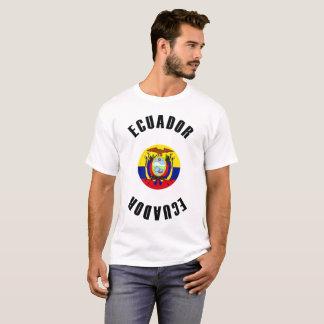 Ecuador Flag Simple T-Shirt