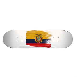 Ecuador Flag Skate Deck