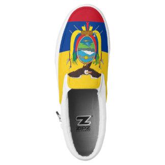 Ecuador Flag Slip-On Shoes