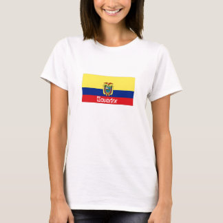 Ecuador flag souvenir tshirt