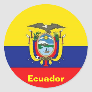 Ecuador Flag stickers