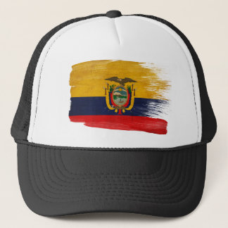 Ecuador Flag Trucker Hat