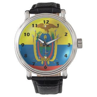 Ecuador Flag Watch