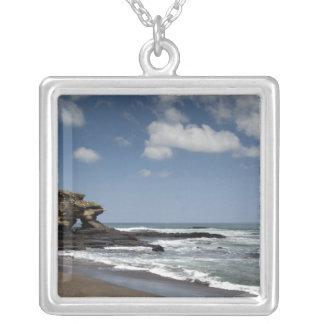 Ecuador, Galapagos, Santiago aka James). 4 Silver Plated Necklace