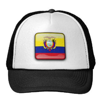 Ecuador glossy flag cap