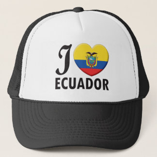 Ecuador Love Trucker Hat