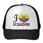 Ecuador Love Trucker Hats