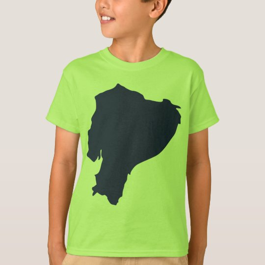 Ecuador Map T-Shirt