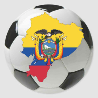Ecuador national team classic round sticker